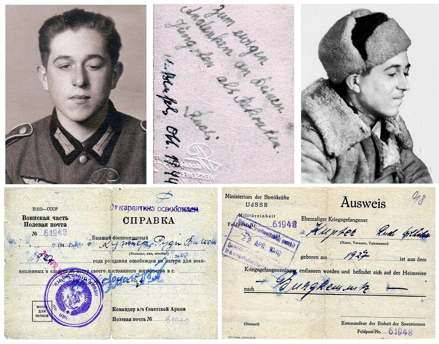 Soldat und Kriegsgefangener Rudi Kupfer